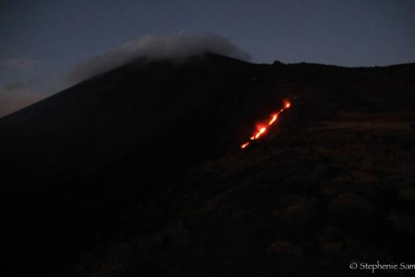 Glimpse of the Lava flow