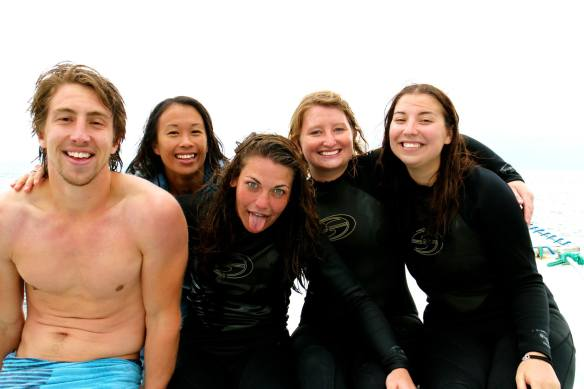 Diving Crew!